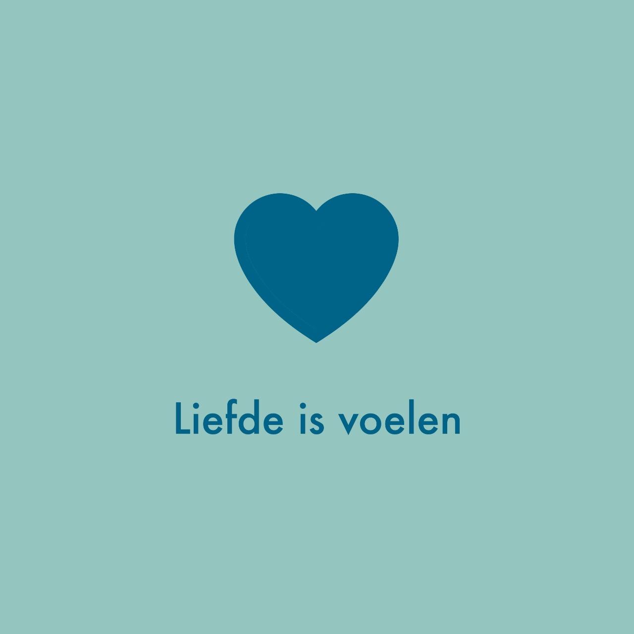 Liefde is voelen